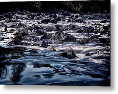 A River Called Iller Metal Print