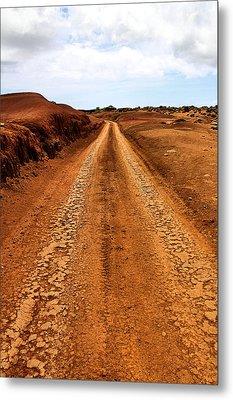 A Road Less Traveled Metal Print by DJ Florek