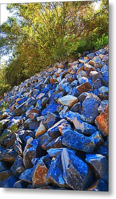 Metal Print featuring the photograph A Rocky Hill by Naomi Burgess