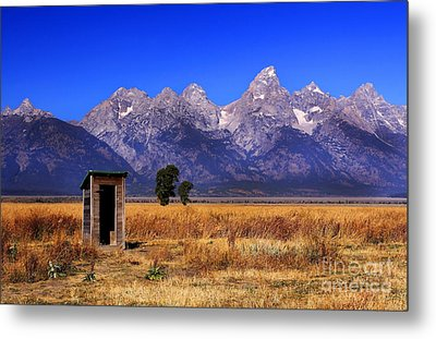 Metal Print featuring the photograph A Room With Quite A View by Clare VanderVeen
