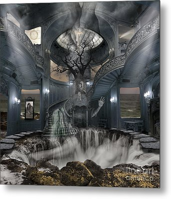 A Room Within My Mind Metal Print by Keith Kapple