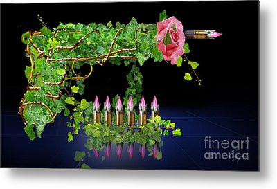 A Rose By Any Other Name - Would It Smell As Sweet Metal Print