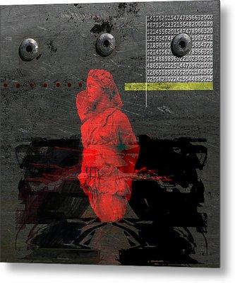 A Sacrificial Rite Metal Print by Maria Jesus Hernandez