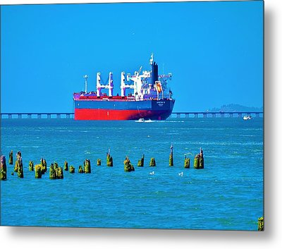 A Safe Harbor Metal Print