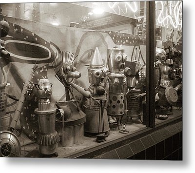 Metal Print featuring the photograph A Shop Window At Berkeley by Hiroko Sakai