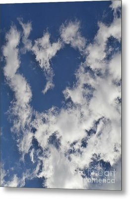 A Sign From Above.....love Metal Print