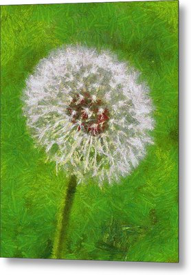 Metal Print featuring the painting A Simple Beauty by Joe Misrasi