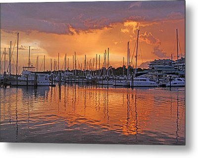 A Sky Full Of Wonder - Florida Sunset Metal Print by HH Photography of Florida