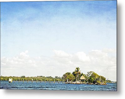 Metal Print featuring the photograph A Small Piece Of Paradise by Rosemary Aubut