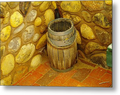 A Sole Barrel Metal Print by Jeff Swan