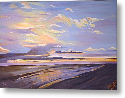 A South Facing Shore Metal Print