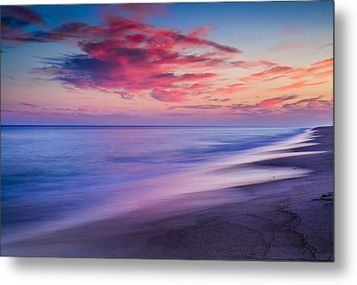 Flying Point Sunset Metal Print by Ryan Moore