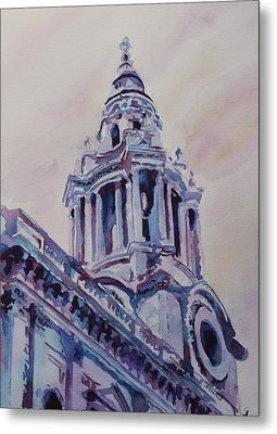 A Spire Of Saint Paul's Metal Print