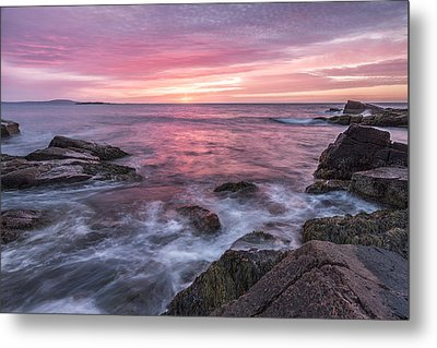 A Splash Of Orange Metal Print by Jon Glaser