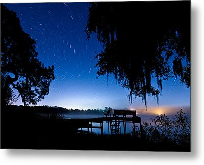 A Starry Night Metal Print by Walter Arnold