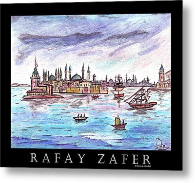 A Story Of Istanbul Metal Print