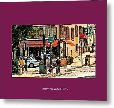 A Street In Frisco 2006 Metal Print by Joseph Coulombe