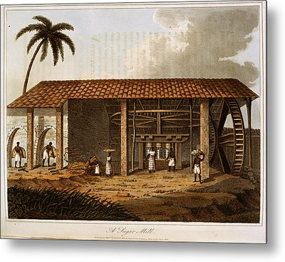 A Sugar Mill Metal Print by British Library