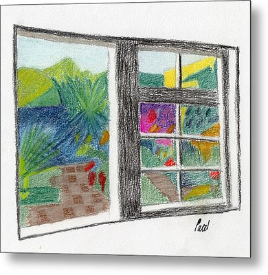A Summer Garden Metal Print by Bav Patel