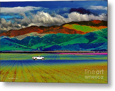 Metal Print featuring the photograph A Surreal Ride by Susan Wiedmann