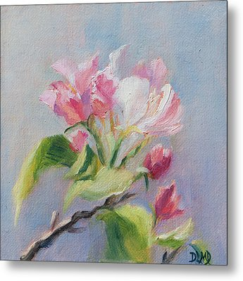 A Sweet Scent Metal Print by Debbie Lamey-MacDonald