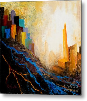 A Tale Of Three Cities Metal Print
