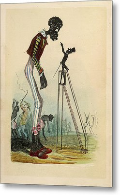 A Tall Slave Metal Print by British Library