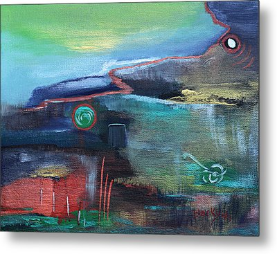 A Tear In Time Metal Print by Donna Blackhall