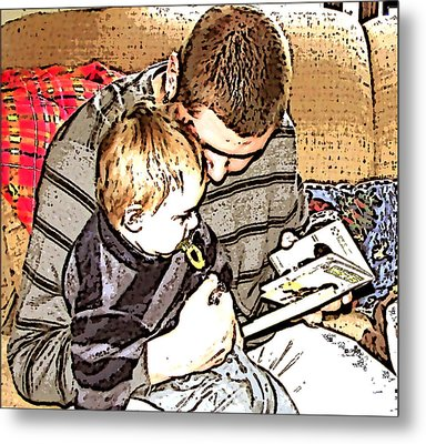 Metal Print featuring the photograph A Tender Moment by Pamela Hyde Wilson
