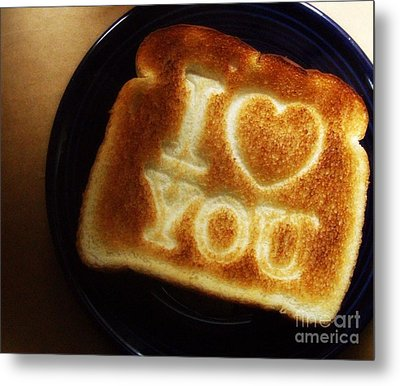 Metal Print featuring the photograph A Toast To My Love by Kristine Nora