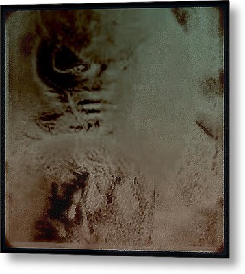 A Tormented  Mind Metal Print