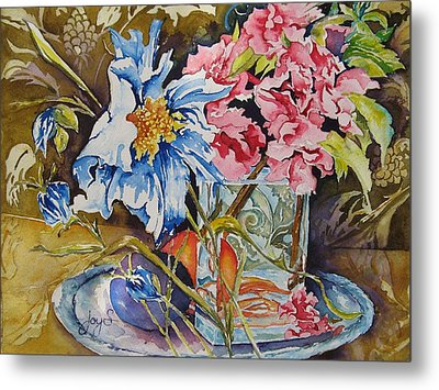 A Touch Of Class Metal Print by Joy Skinner