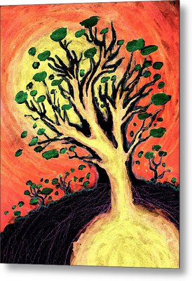 A Tree Is Born Metal Print by David Condry