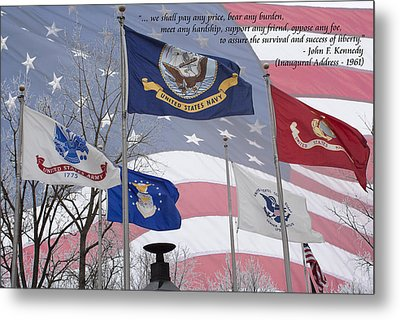 A Tribute To Our Freedom Metal Print