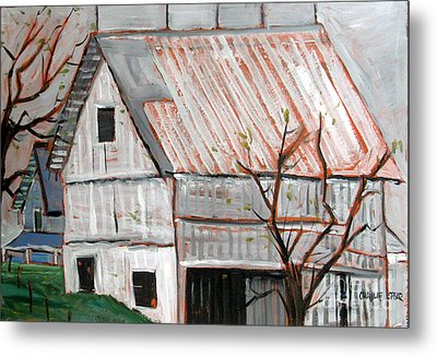 A Very Gray Day Metal Print by Charlie Spear