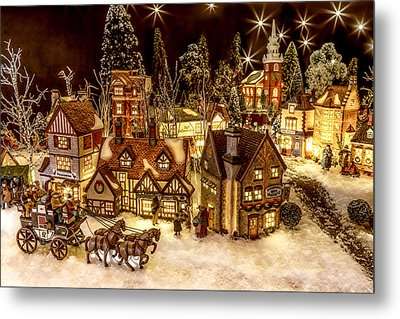 A Very Merry Christmas Metal Print