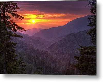 A View At Sunset Metal Print by Andrew Soundarajan