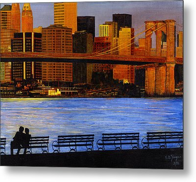 A View From Brookklyn Metal Print by Stuart B Yaeger
