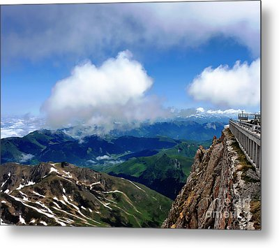 A View From Pic Du Mide Observatory Metal Print by Graham Taylor