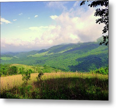 Metal Print featuring the photograph A View From Smith Mt. by Jim Whalen