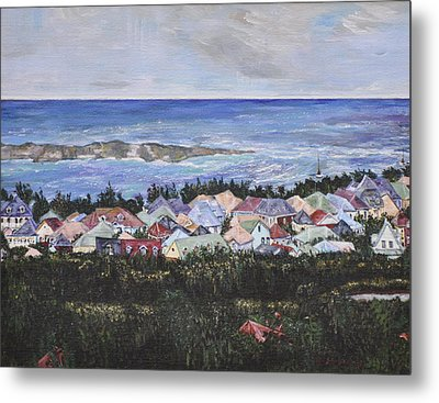 A View Of Orient Bay Metal Print by Dottie Branchreeves
