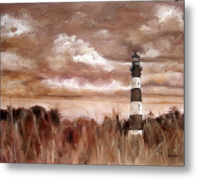 A View Of The Outer Banks Metal Print by Diane Kraudelt
