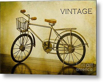A Vintage Bike Metal Print