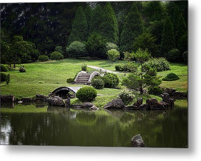 A Walk In The Park Metal Print by Tom Mc Nemar