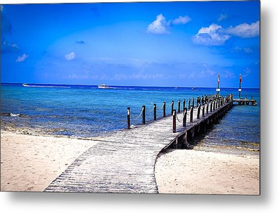 Metal Print featuring the photograph A Walk Into Blue by Phil Abrams