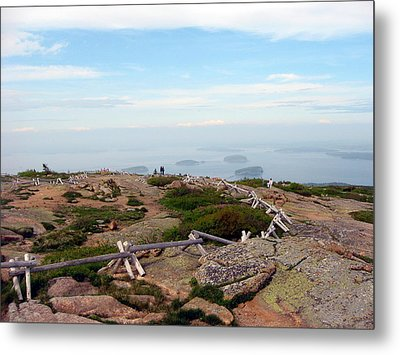 A Walk On The Mountain Metal Print