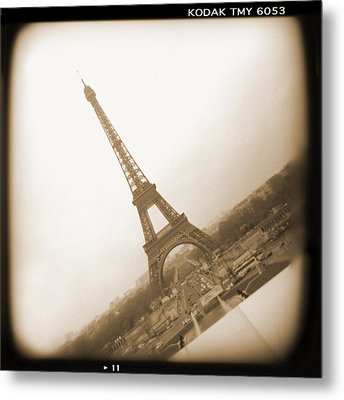 A Walk Through Paris 11 Metal Print by Mike McGlothlen