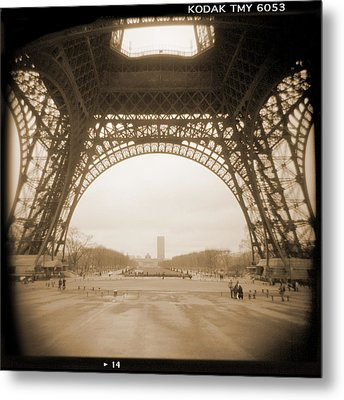 A Walk Through Paris 14 Metal Print by Mike McGlothlen