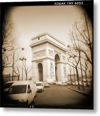 A Walk Through Paris 2 Metal Print by Mike McGlothlen
