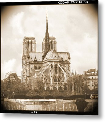 A Walk Through Paris 25 Metal Print by Mike McGlothlen